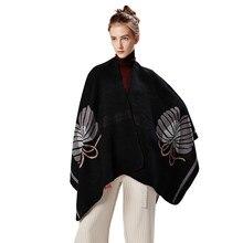 BB   KK 2018 Femmes D hiver Tricoté Cachemire Poncho Capes Châle Cardigans  Pull Manteau d hiver garder au chaud foulards echarpe. f8a0a34766a