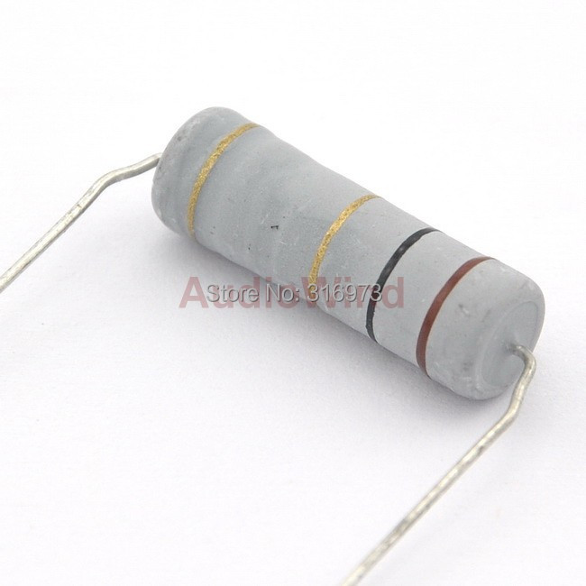 3 Watt 5/% Metal Oxide Power Resistors 220K ohms 5 pieces