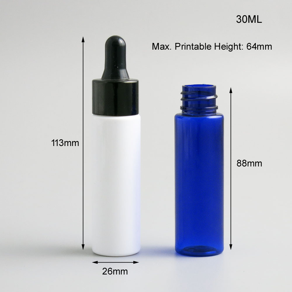 Mellius Botol Pipet Kaca 30ml Glass Bottle Pipette 10pcs 30 Ml