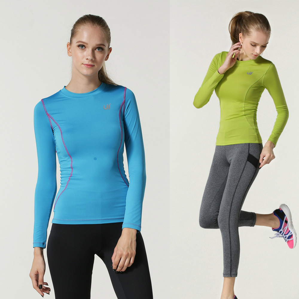 Fashionable running clothes