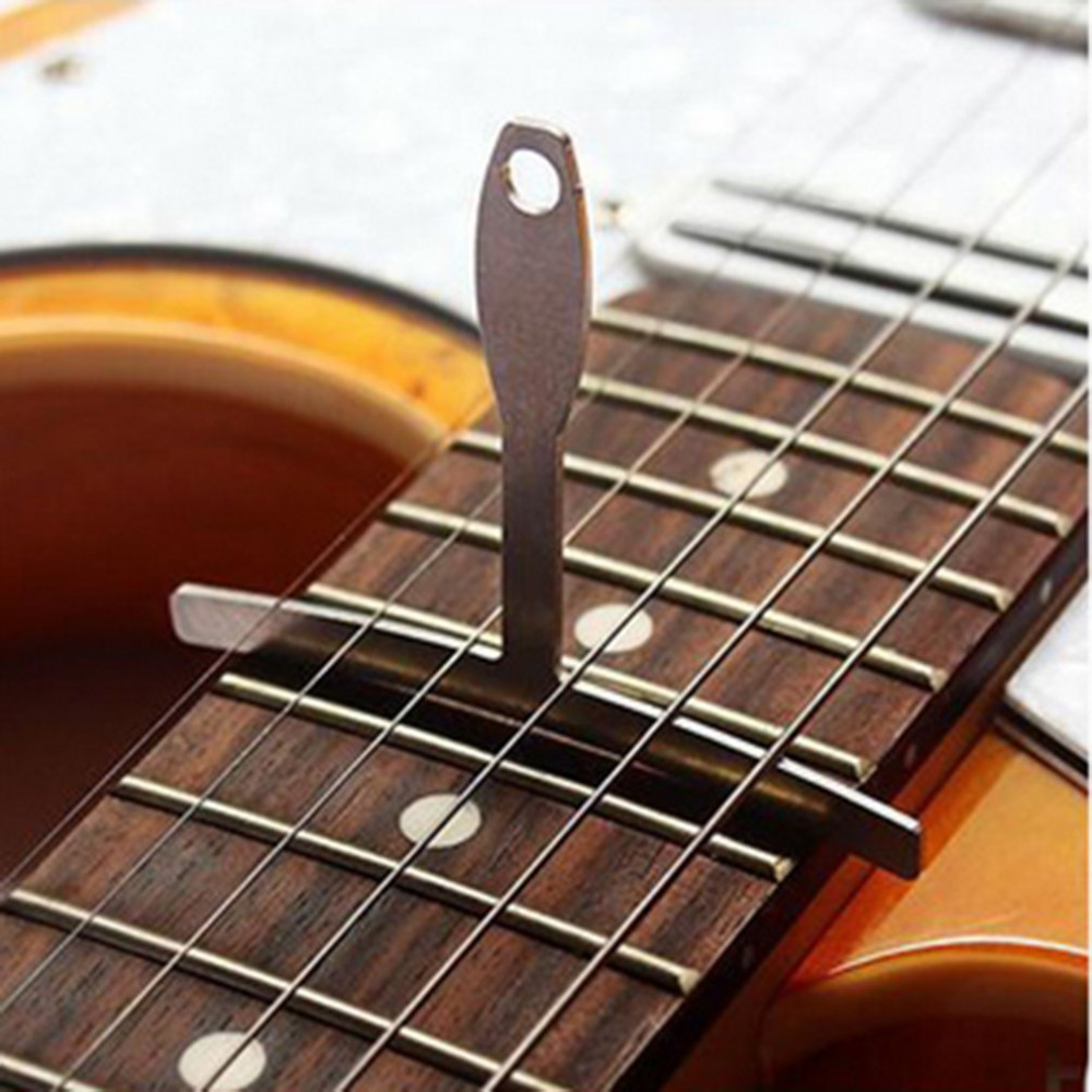 9pcs guitar bass metal under string radius gauge setup luthier stainless steel set in guitar. Black Bedroom Furniture Sets. Home Design Ideas