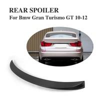 Carbon Fiber Rear Spoiler Trunk Boot Lip Wing For BMW 5 Series Gran Turismo GT 2010 2012 Car Tuning Parts