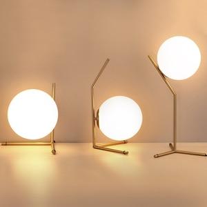 Modern Glass Ball table lamps