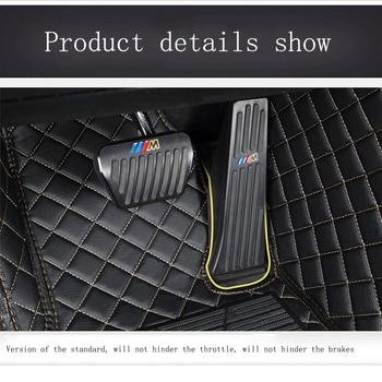 kalaisike Custom car floor mats for Mazda All Models mazda 3 5 6 8 CX-5 CX-7 MX-5 CX-9 CX-4 atenza car styling car accessories