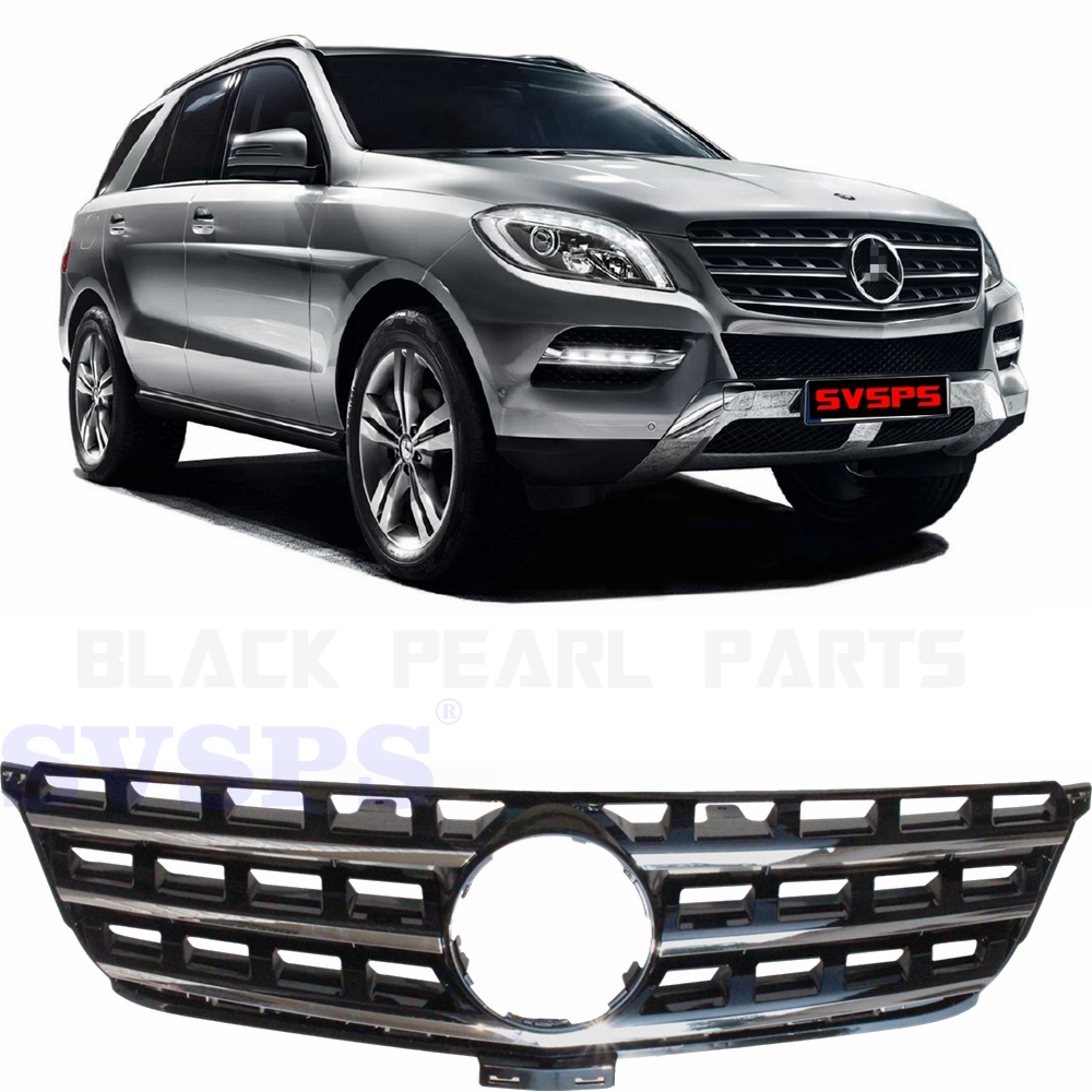 цена на OEM tuning Parts Front Middle Grill Grille for Mercedes Benz ML 350 M class ML63 Vehicle 2012-2015 year