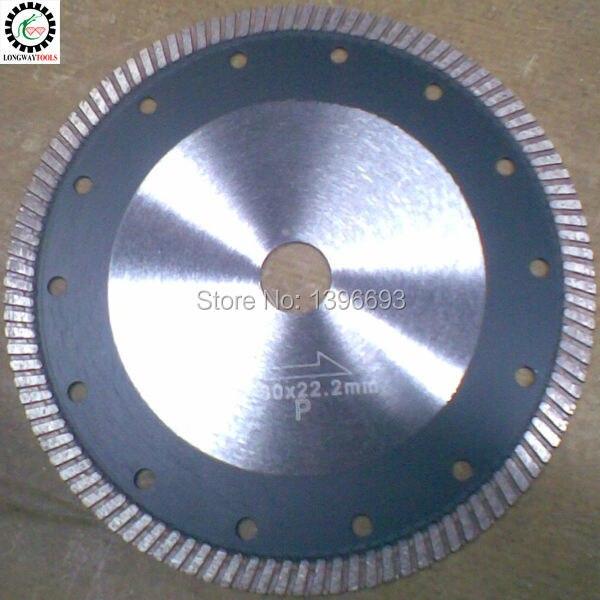 Hoja de sierra turbo diamante de 180 mm y 7