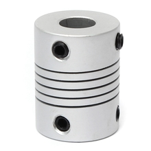 5x8mm Motor Jaw Shaft Coupler  5mm To 8mm Flexible Coupling OD 19x25mm Router Connector Power Transmission Part