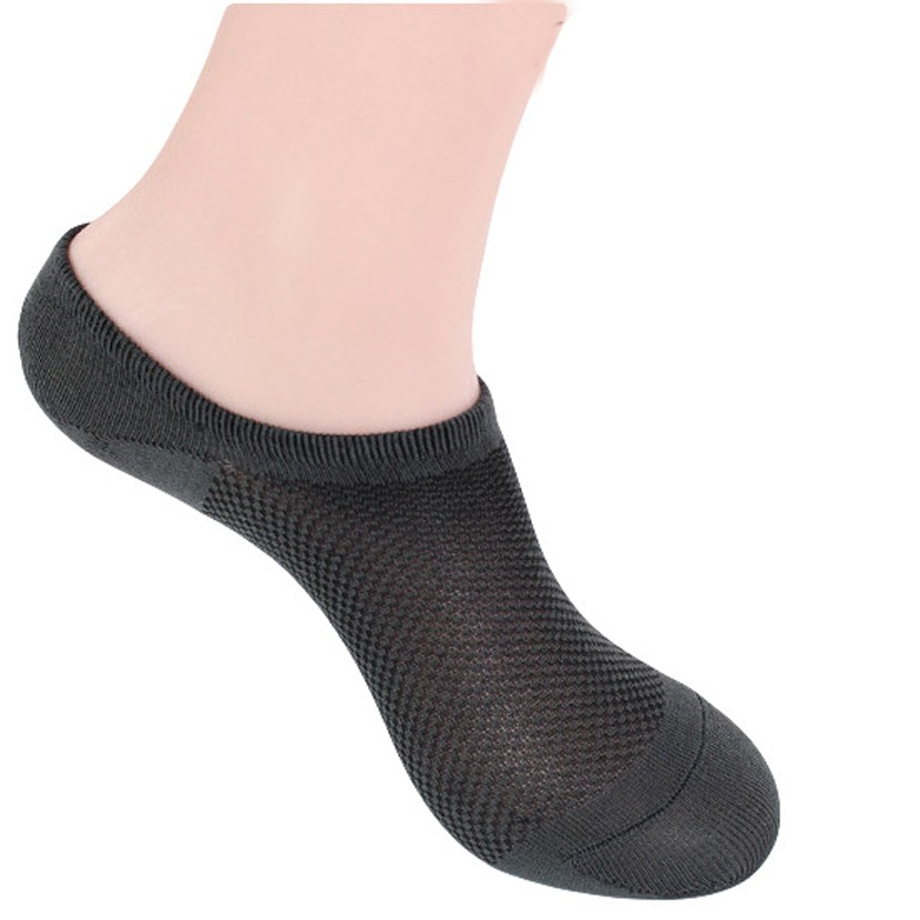 Image 5 - 12 pairs/lot Socks Men Hot sell Socks Classic Male Brief BAMBOO Cotton Invisible Man Sock Slippers Shallow Mouth net socks-in Men's Socks from Underwear & Sleepwears