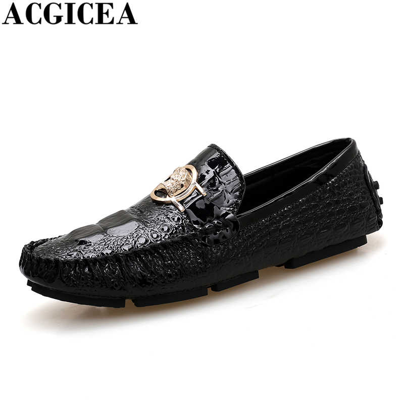 2b080f579ca27 New Arrivals Fashion Men Boat Shoes Slip On Breathable Comfortable Casual  Driving Shoes Moccasins Men Loafers