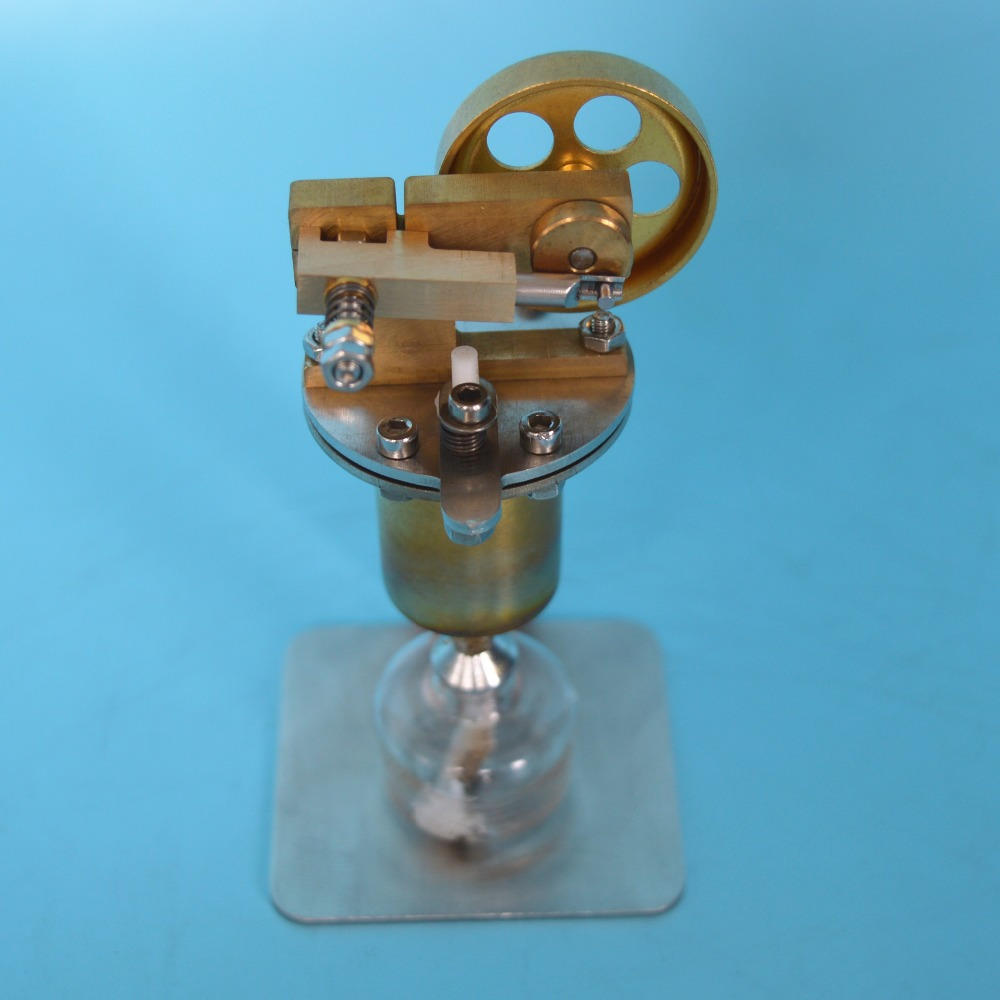 Steam Engine Model Mini Copper Boiler Steam Engine Alcohol Lamp ...