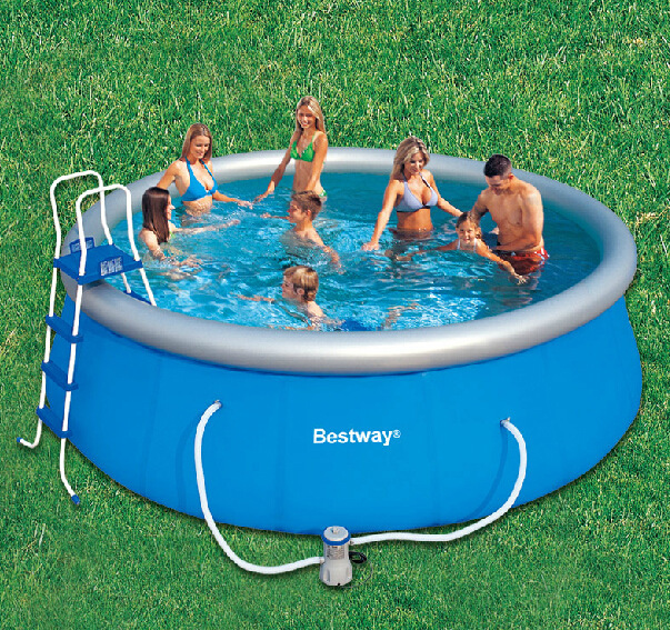 The 28 best above ground swimming pools in 2017 large for Best children s paddling pool
