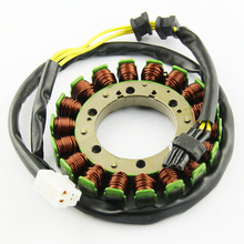 Motorcycle Ignition Magneto Stator Coil for Kawasaki KLR650 2008 2009 2010 21003-0084 Magneto Engine Stator Generator Coil motorcycle ignition magneto stator coil for kawasaki ex250 ninja 250r 2008 2012 magneto engine stator generator coil accessories