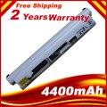 Blanco 5200 MAH batería del ordenador portátil para Lenovo S10-2 s10-s10-2c S10-3C L09C3B11 L09M3B11 L09M6Y11 LO9C312