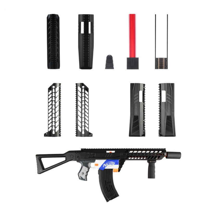 Werknemer Mod MCX Body Cover Verbergen Pomp Kits voor Nerf Retaliator Speelgoed