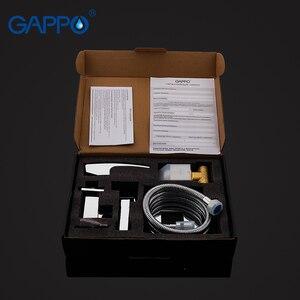 Image 5 - Gappo בידה ברז אמבטיה בידה מקלחת סט ברז מקלחת אסלה בידה מוסלמי מקלחת פליז קיר רכוב מכונת כביסה ברז מיקסר G7207
