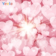 Yeele Wedding Ceremony Photocall Boom Love Lights Photography Backdrops Personalized Photographic Backgrounds For Photo Studio