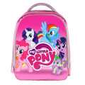 Monster School/ My Little Pony/ Super Wings Pink Cartoon School Bags for Teenagers Boys Girls Children Kids School Bag