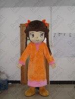 Оплетка волосы девушки талисмана мультфильм ученик костюмы для девочек ходить актера