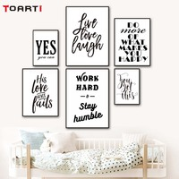 Work Hard Inspiring Life Quotes Wall Painting Canvas Poster Modern Artwork Murals Charts Modular Wall Pictures Bedroom Decor