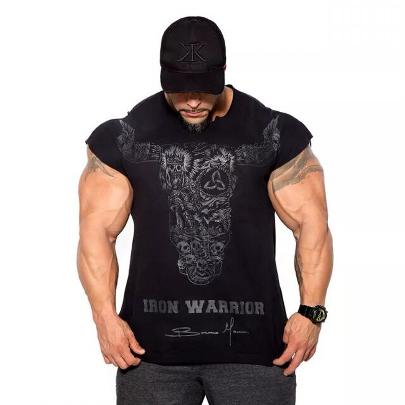 2018 BULKING Brand Men cotton t shirts fashion Casual gyms Fitness workout Short sleeves tees 2018 summer new male tops clothing