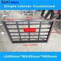 Простой шкаф/модуль: P10/P5led/пустая коробка/rgb/640 мм * 640 мм/Витрина