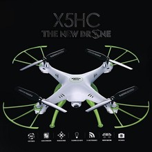 2016 Newest Design Syma X5HC Explorers With 2MP HD Camera 2.4G 4CH 6Axis Headless Mode RC Quadcopter RTF Mode 2 X5SC upgraded