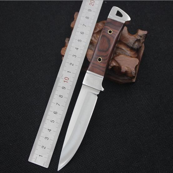 SHNAPIGN Stainless Steel Fixed font b Knife b font font b Hunting b font font b