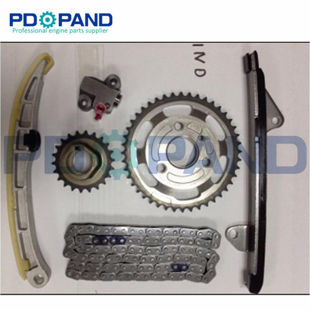 US $78 13 13% OFF|1ND 1ND TV 1NDTV Engine Timing Chain Gear Tensioner Kit  for Toyota Corolla/PROBOX/SUCCEED/URBAN CRUISER/YARIS/YARUS 1 4L -in Timing
