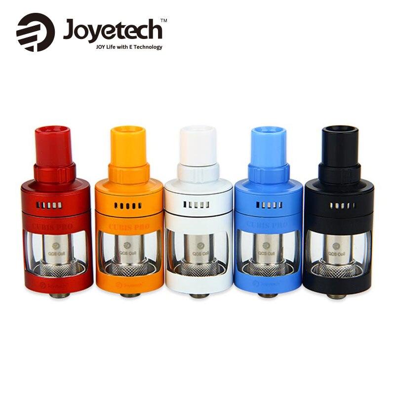 Joyetech CUBIS Pro Atomizzatore 4 ml E-liquido Capacità di Flusso D'aria Regolabile Supporto Diretto Polmone MTL vaping e Derlin A Spirale boccaglio