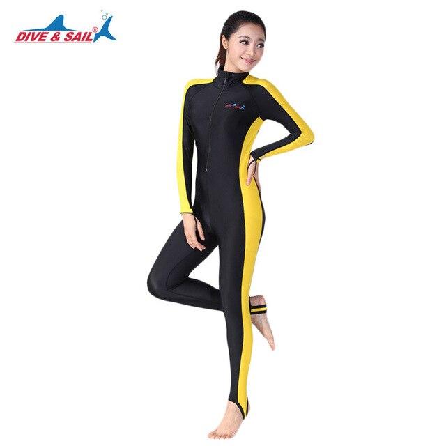58083b8451 Full Body Snorkeling Swim Diving Lycra Skin Suit Wetsuit - Long Legs Sleeves  UV Sun Protection UPF50+ Men s Women s Rash Guards