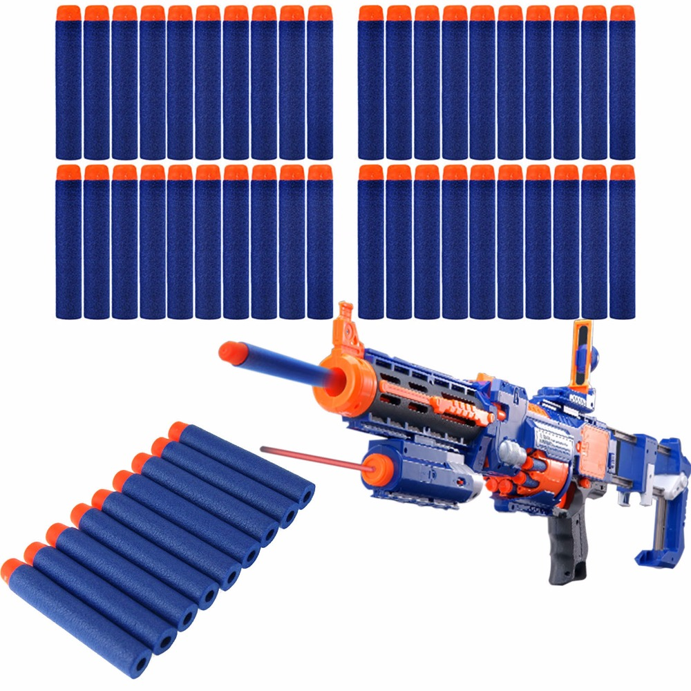 3 mint nerf guns and over 100 bullets