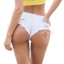 Booty Shorts Women's Jeans Summer Low Waist Cotton Straight Stretch Sexy Shorts harajuku Club Party Jeans Ladies short feminino