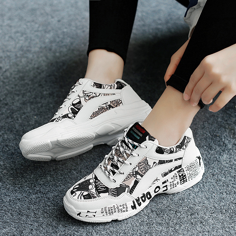 Couples Canvas Athletic Shoes Spring Autumn Mens Running Shoes White Black Ladies Walking Sneakers Lace Up Fitness SneakersCouples Canvas Athletic Shoes Spring Autumn Mens Running Shoes White Black Ladies Walking Sneakers Lace Up Fitness Sneakers