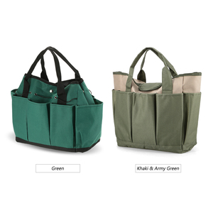 Image 5 - Garden Tool Bag Outdoor Tools Oxford Fabric Garden Square Box Type Bag for Gardening Tool Kit Outdoor Tools