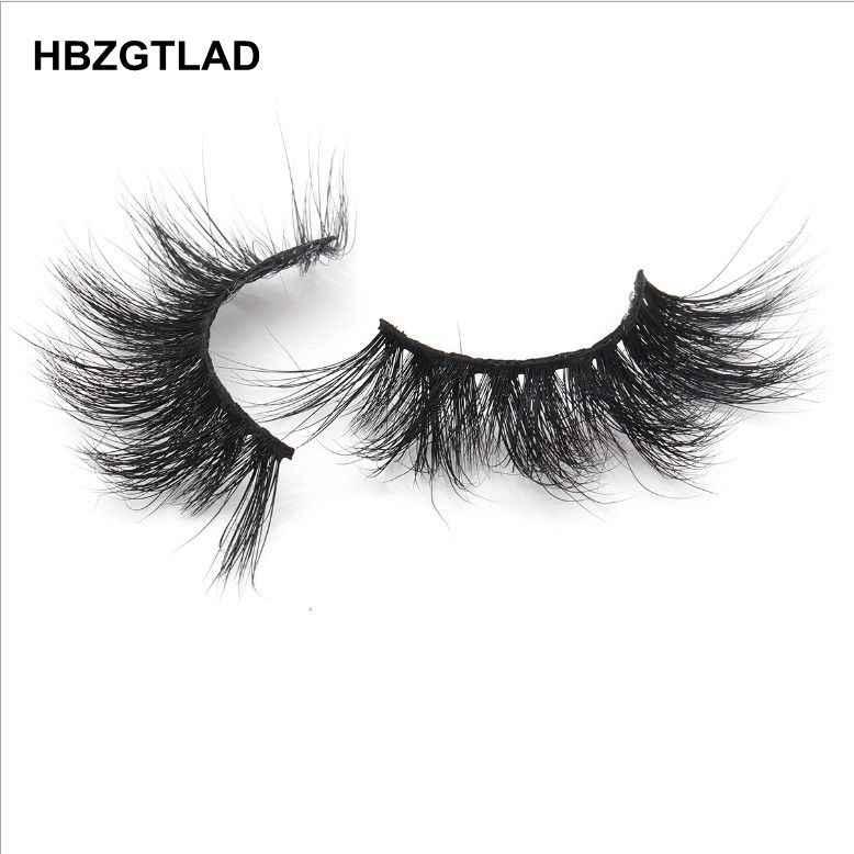 dc0f88d1208 ... HBZGTLAD 100% mink eyelashes extra length 25mm lashes 3D eyelashes Big  dramatic volumn eyelashes Crisscross ...
