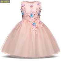 Girls Dresses 2018 Brand Cinderella Fashion Sequins Dress For Flower Girl Clothing Kids Party Clothes New