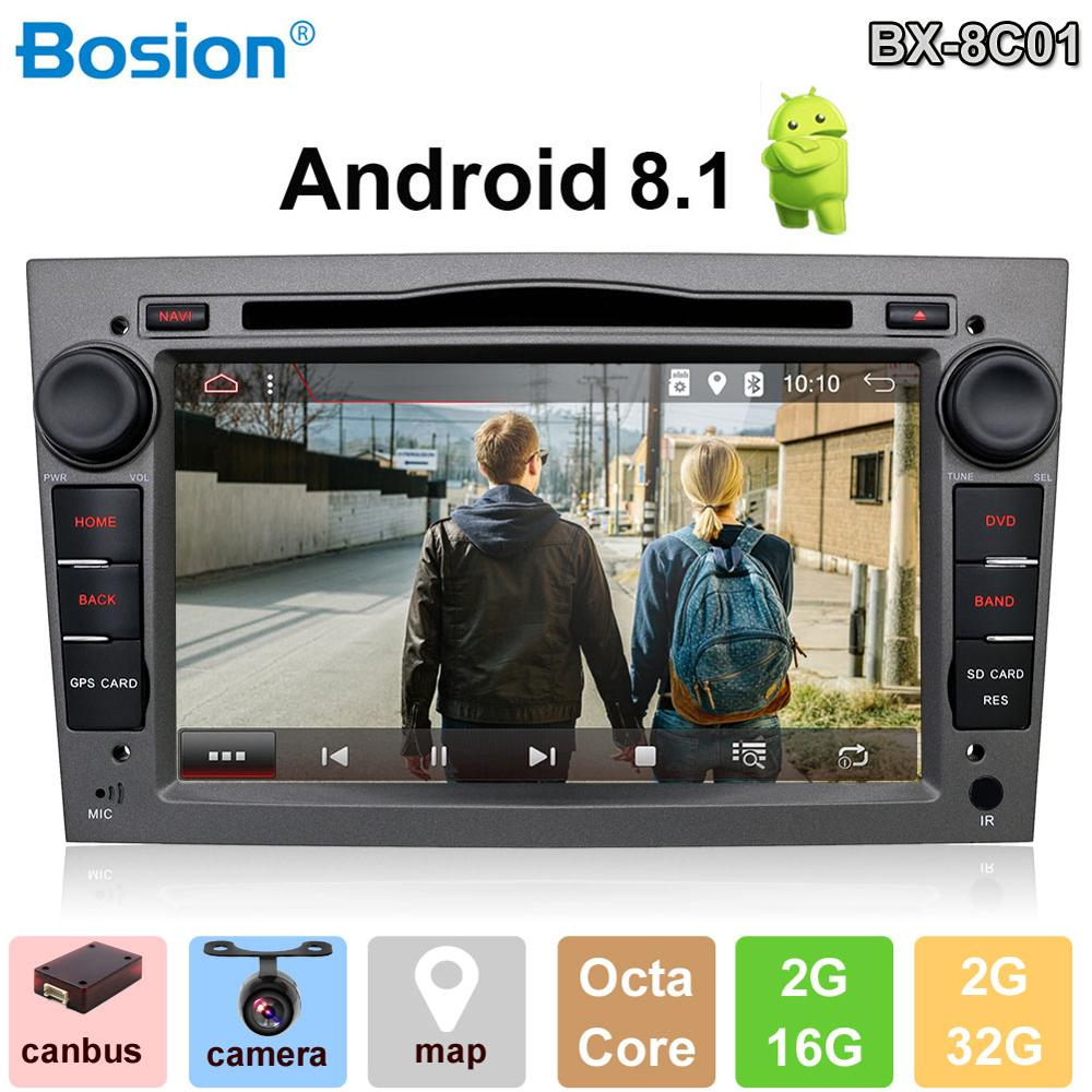 Support WIFI Bluetooth Steering Wheel Free Backup Camera /& Canbus |7 Inch 4G+64G PX6 Android 9.0 Double Din Car Stereo Head unit For Opel Vauxhall Antara Astra Zafira Corsa Meriva GPS Navigation