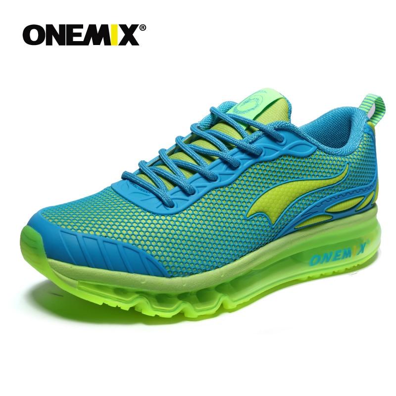 ONEMIX chaussures de course pour hommes respirant maille femme Sport baskets chaussure homme hommes Jogging confortable hommes chaussures ventes - 5