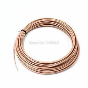 Image 5 - 50 מטרים\חבילה 164ft RG316 חום קואקסיאלי כבל חוטים RF 50 אוהם מסוכך כבל חוט DIY
