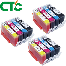CTC 12 Pack 364XL Compatible Ink Cartridges Replacement for  364 xl Deskjet 3070A 5510 6510 B209a C510a C309a Printer