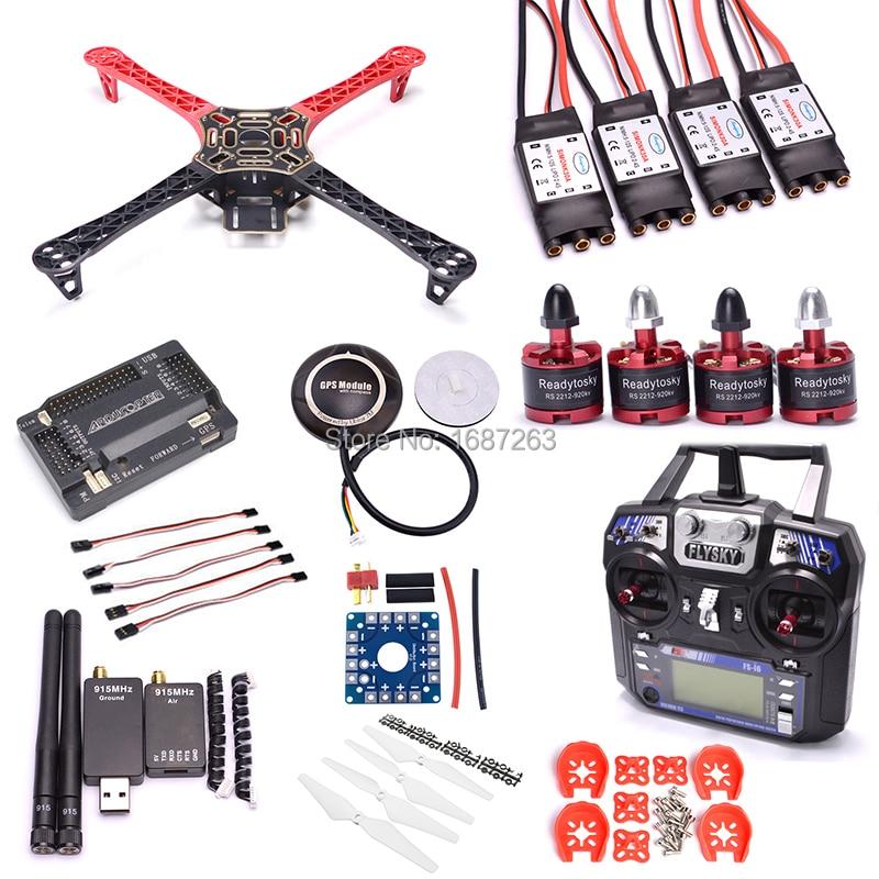 F450 Quadcopter Rack Kit Frame APM2 6 Board and 7M GPS 2212 920KV Simonk 30A 9450