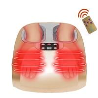 Electric Heated Shiatsu Air Pressure Leg Foot Massager Machine Reflexology Foot Massage Infrared Vibration Home Massage Device