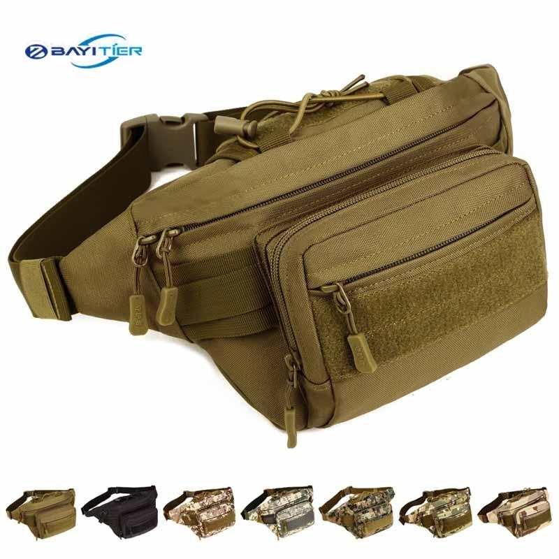 imágenes para Aierwil Tactical Molle 600D Bolsa de Viaje de Nylon Impermeable Hombres Cinturón de Caza EDC Equipos Bolsa de Bolsillo Paquete de la Cintura Militar