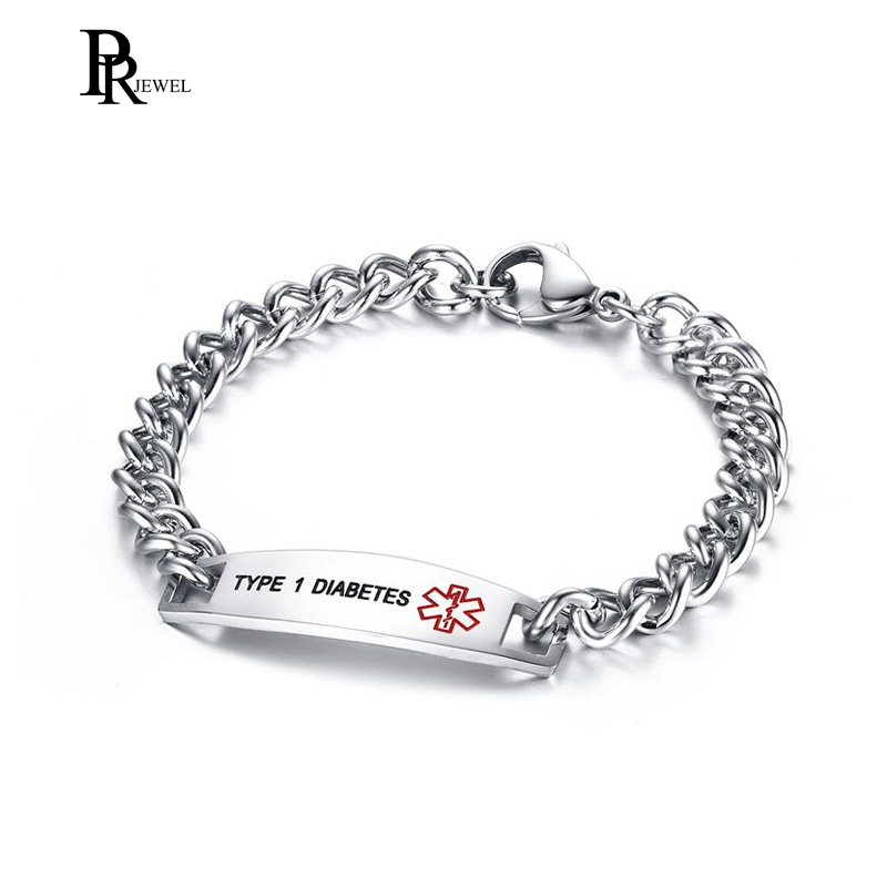 Medical Alert Id Bracelet Curb Link