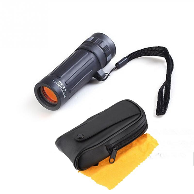 8x21mm handy scope sports outdoor camping mini pocket compact monocular binoculars telescope. Black Bedroom Furniture Sets. Home Design Ideas