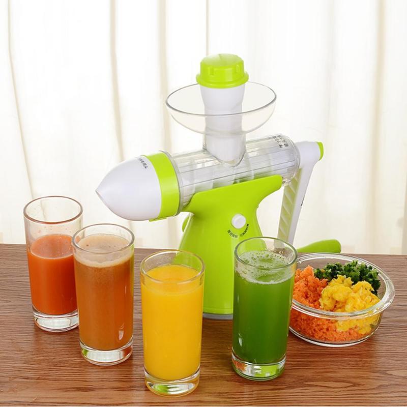 все цены на Hand Press Slow Juicer Ice Cream Squeezer Manual Orange Juice Extractor DIY Fresh Fruit Vegetable Machine Blender