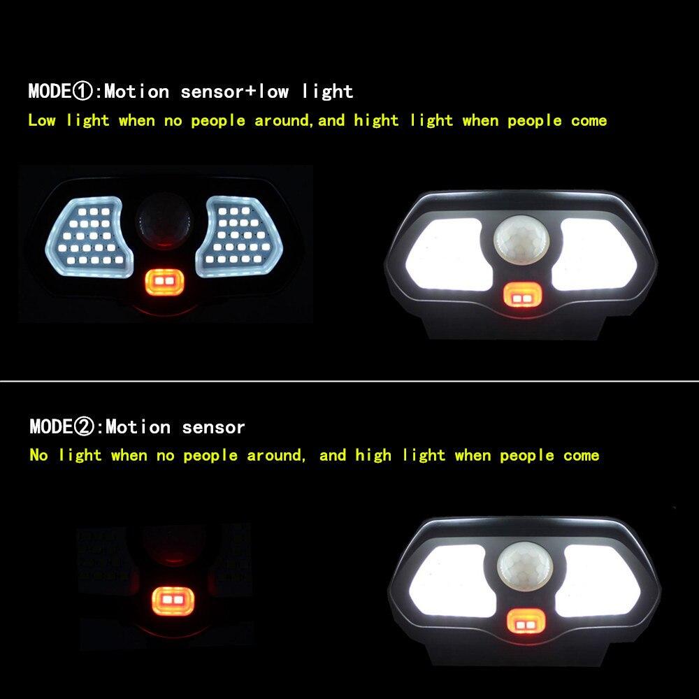 parede sensor movimento pir solar lampada 04