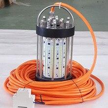 Dc12в 600 Вт 15 м кабель океанская Лодка Рыболовная Ночная рыба подводный светодиодный фонарь для рыбалки