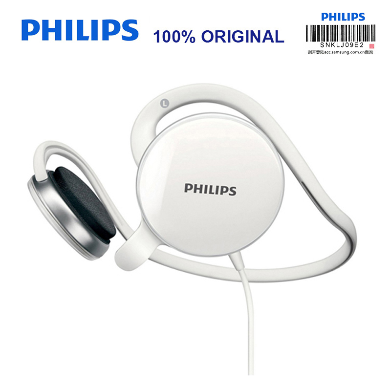 Philips SHM6110U Post-hanging Headset with Microphone Support Music & Movie & Game for Computer Mobile Phone Official Test