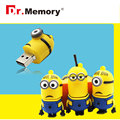 Pen drive Minion USB Flash Drive on hot sale flash card pendriver 2GB/4GB/8GB/16GB usb2.0 free shipping usb stick 64gb